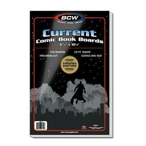 100-BCW-Current-Comic-Backing-Boards