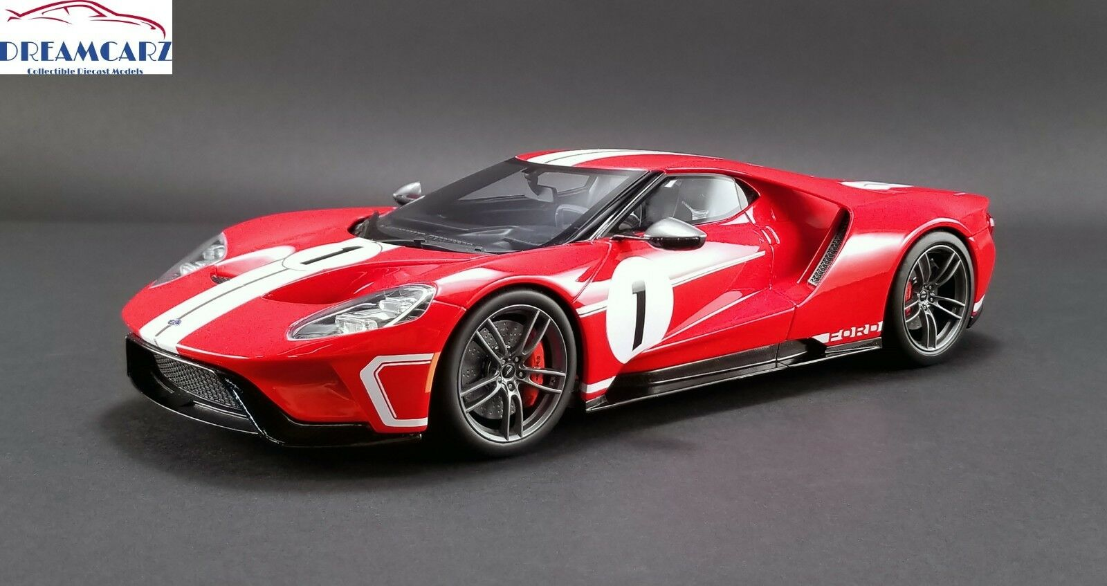 GT Spirit US008 1/18 2018 Ford GT Heritage Edition  1