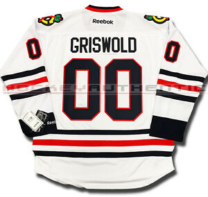 Clark Griswold Chicago Blackhawks Jersey White Christmas Vacation Ebay