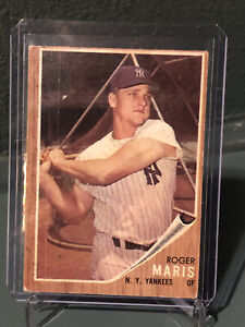 1962-Topps-1-Roger-Maris-New-York-Yankees-HOF