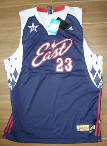 buy popular 84635 81060 Details about NBA ALL STAR 2007 LEBRON JAMES JERSEY NEW WITH TAGS 2XL/LAS  VEGAS/CAVALIERS