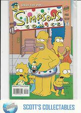 Simpsons   #55    NM   (Bongo Comics)   High Grade