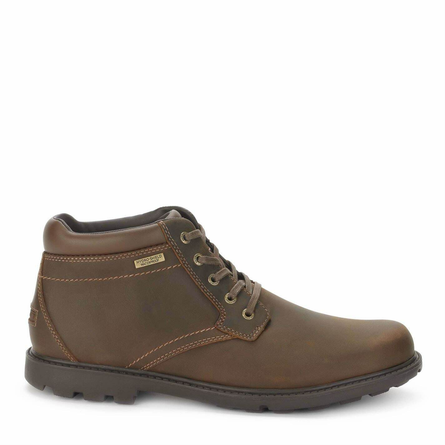 Rockport Rugged Bucks Water Repellent Boot Mens Gents Chukka Boots Laces