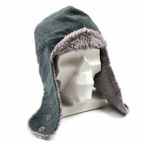 4351318c5ef New Army Surplus Swiss Military Issue Men s Wool Winter Hat M L Gray ...