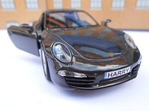 Details about PORSCHE 911 PERSONALISED NAME PLATES Toy Car MODEL DAD BOY  GIRL BIRTHDAY GIFT