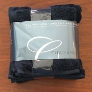 Charisma-2-Luxury-Hand-Towels-16-in-x-30-in-amp-2-Wash-Cloth-13-in-x-13-in