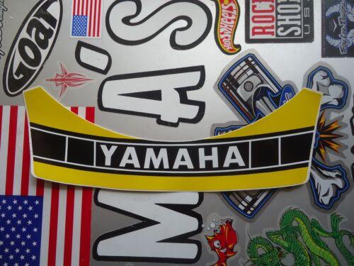 Vintage Yamaha Motocross 5 Snap Duckbill Helmet Visor Decal New