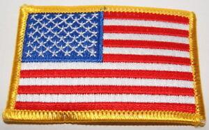 AUFNÄHER PATCH AUFBÜGLER FAHNE FLAGGE USA VEREINIGTE STAATEN von AMERIKA links