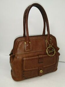 3059e38926 Image is loading COACH-THOMPSON-DOCTOR-WHISKEY-LEATHER-LEGACY-TOP-HANDLE-