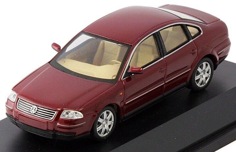 VW Passat B5 3BG Sport V6 2.8 4 movimiento Coloreeado rosso 1 43 Schuco (Distribuidor Modelo)