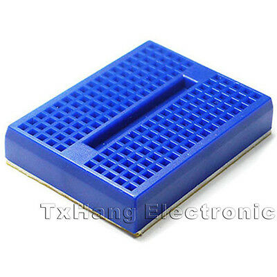 5PCS Mini Blue Solderless Prototype Breadboard 170 Tie-points for Arduino Shield