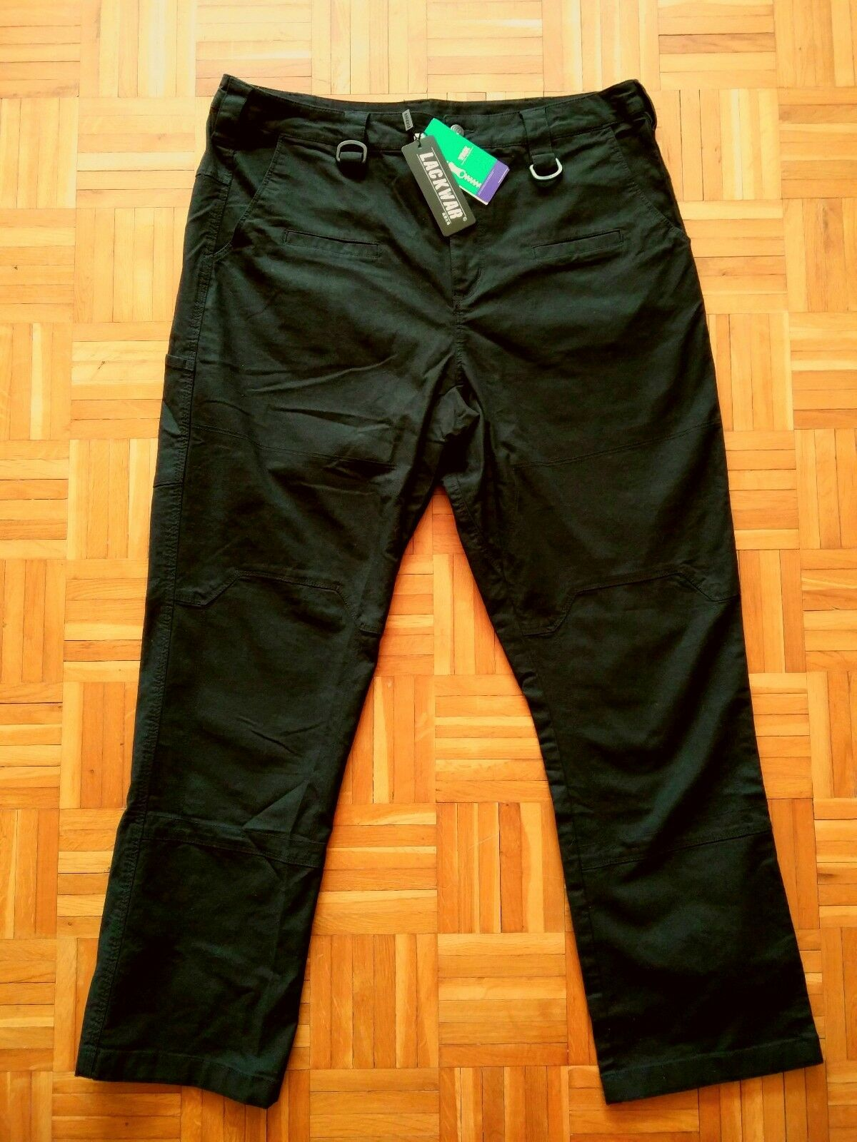 Lackwar CoGrün RS Tactical Pants (Einsatzhose schwarz W34 L32)