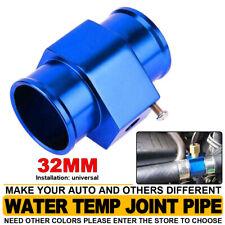 Blue Water Temp Temperature Sensor Adaptor Gauge Radiator Hose 32mm 126