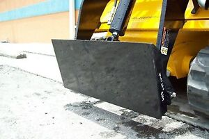 Details about Mini Skid Steer Adaptor Plate, Weld On, Make Old Attachments  Fit Your Loader