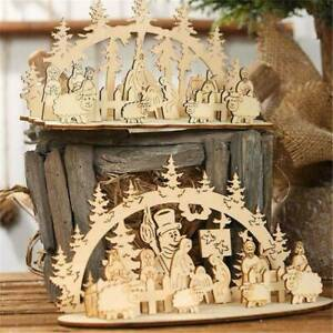 Christmas-Decorations-Wooden-Santa-Claus-Elk-Desktop-Ornaments-DIY-Table-Decor