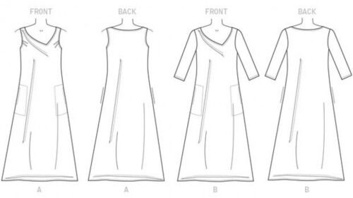 Butterick femme Easy sewing pattern 6283 Coupe Ample Pull Robe BUTTERICK...
