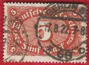 DEUTSCHES-REICH-992-MI-NR-194-b-GESTEMPELT-NEU-GEPRUFT-INFLA-Weinbach