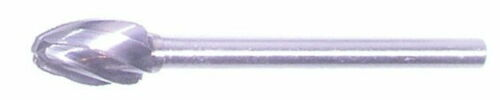 SE-51-A Oval Shape NF Aluminum Cut Carbide Bur Rotary Fiile burr Dremel tool egg