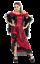 Femme Moulin Rouge Saloon Western Film /& TV Fancy Dress Costume