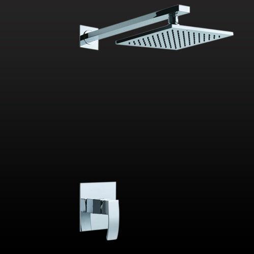 Unterputz Duschamatur Regendusche Kopfbrause Einhebelmischer Dusch system paneel