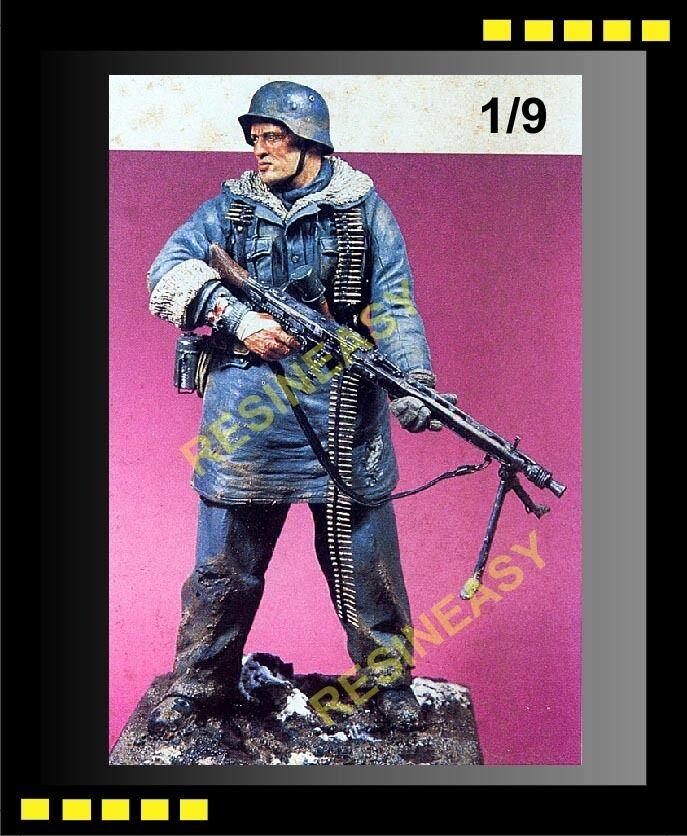 Resin Model Kit Kirin German MG42 Gunner Totenkopf,Kharkov 1 9 figure - K22001