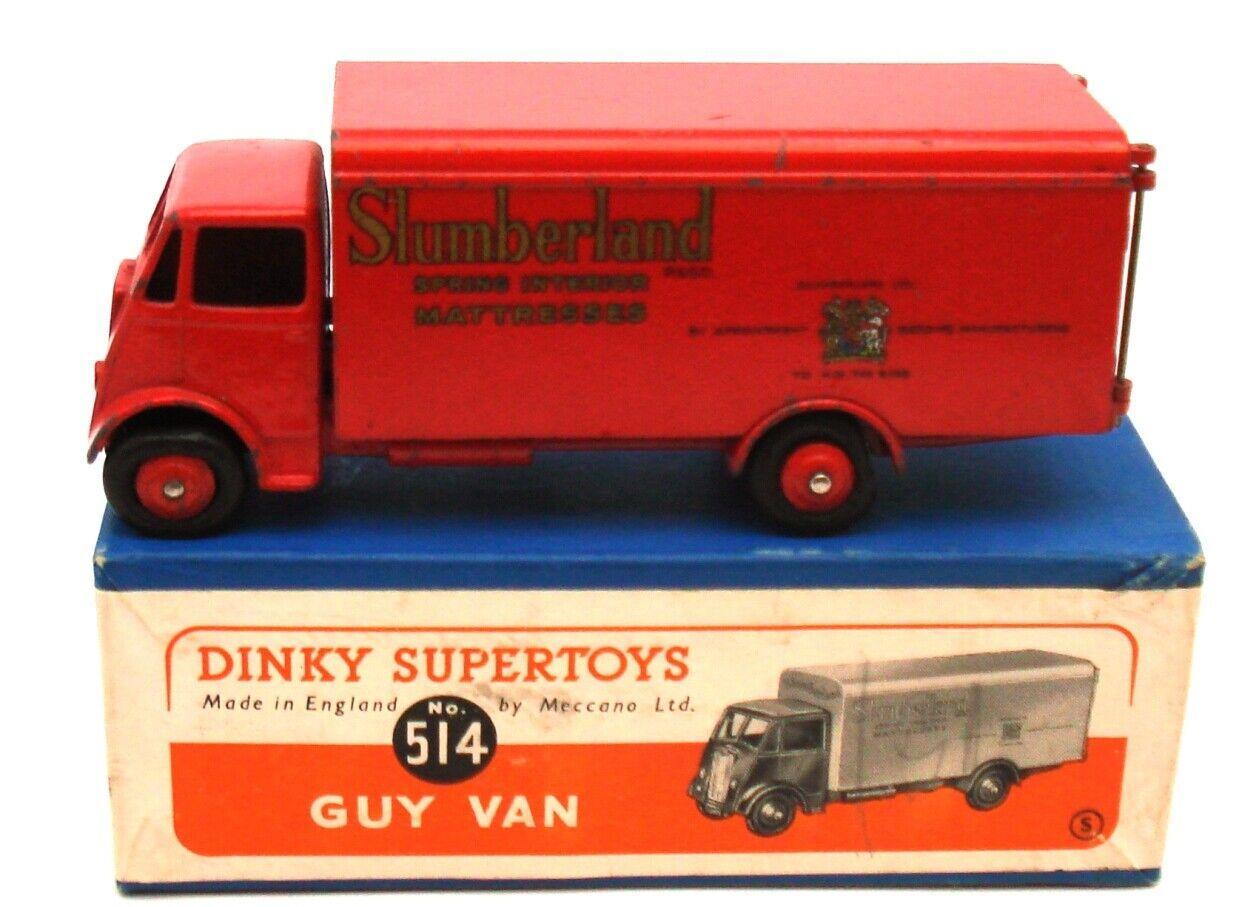 DINKY NO. 514 GUY SLUMBERLe TRUCK  RARE & scatolaED