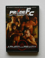 PRIDE FC ARMED & READY THE WORLD'S PREMIERE MIXED MARTIAL ARTS CONTEST IN JAPAN