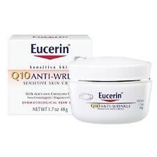 Eucerin Sensitive Skin Experts Q10 Anti-Wrinkle Face Creme 1.70 oz clariSEA Sea Salt Solutions Rapid Detox Charcoal Face Exfoliant, 5 oz.