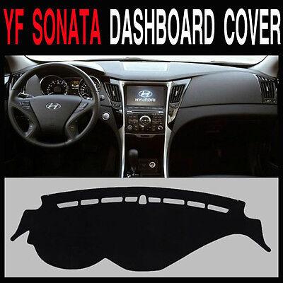 H18 Car Dash Cover Mat Pad Sun Cover Carpet for Hyundai i45 Sonata YF 2011