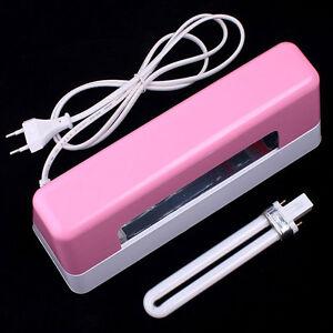 Nail-Art-Dryer-9W-Curing-UV-GEL-Light-Bulb-Lamp-Pink
