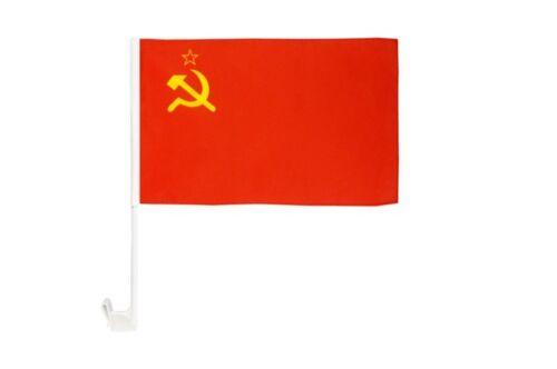 UDSSR Sowjetunion Autofahne Autoflagge Fahnen Auto Flaggen 30x40cm