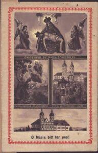 Maria-Schosberg-Eslovaquia-Hungria-Bohemia-Wallfahrt-Recuerdo-Estampa-B-5061