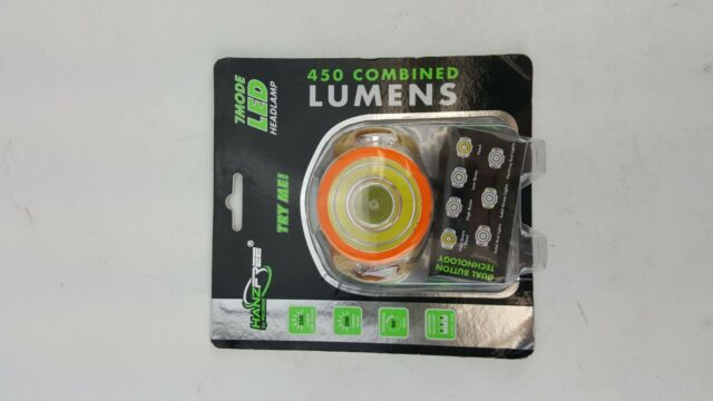 7 MODE 450 LUMEN LED HEAD LAMP Promier