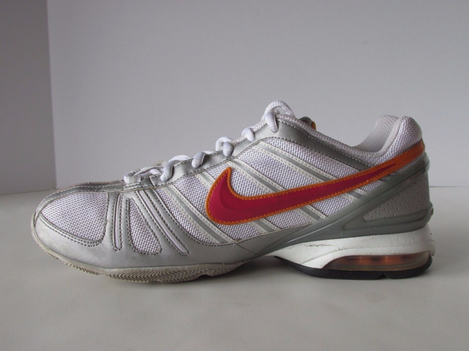 64ce1eb04bfa ... Nike Air Max White Red Red Red Silver Synthetic Mesh Running Shoes  Women s US 9M 64f64a ...