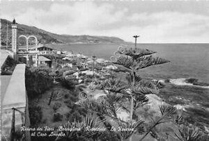 Cartolina-Postcard-Bordighera-Ristorante-La-Reserve-Capo-Amelio-1955