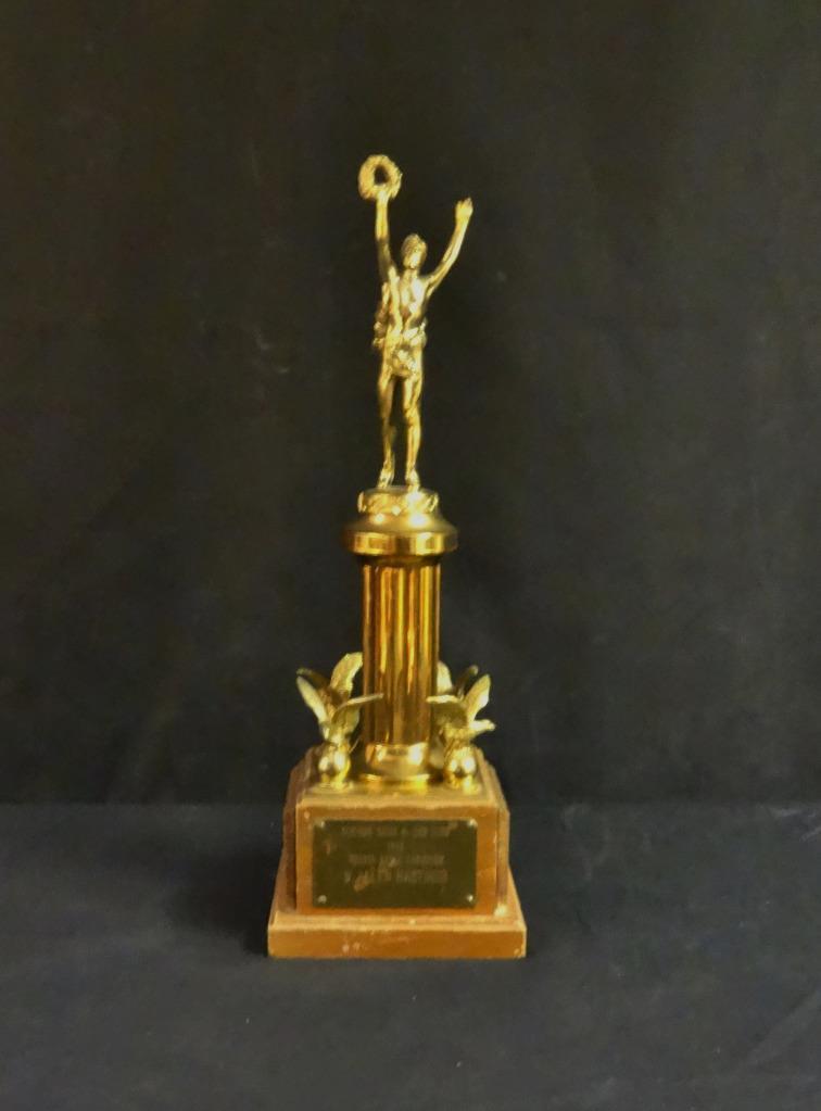 Sorprendente 1950 Seaford Skeet y Pistola Palo Clásicos Figural Trofeo Ganó por