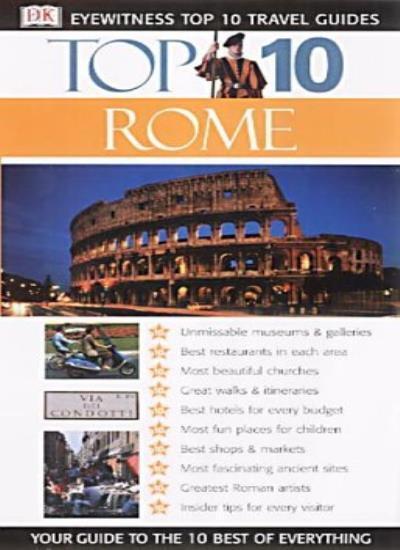 Rome (DK Eyewitness Top 10 Travel Guide),Reid Bramblett