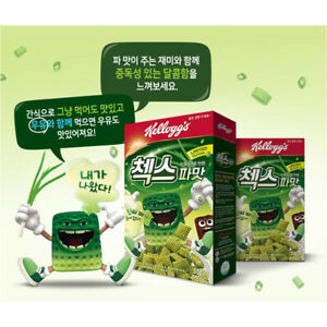 Kellogg-Green-Onion-Flavor-Chex-Cereal-Korea-Limited-Edition-New-Product-Snack