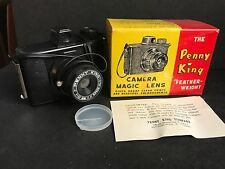 Vintage Penny King plastic Camera Mint Original Box 127 film hong kong toy