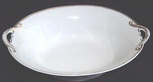 Antico-Noritake-M-Giappone-Dipinto-a-Mano-10-034-Oro-Cerchio-Manico-Arco-Piatto-da