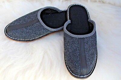 KüHn Mens Real Felt Very Comfortable Slippers All Sizes