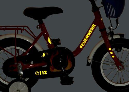 18 Zoll Kinderrad FEUERWEHR Tiefen Einstieg /&Korb von BACHTENKIRCH NEU 434-FW-06