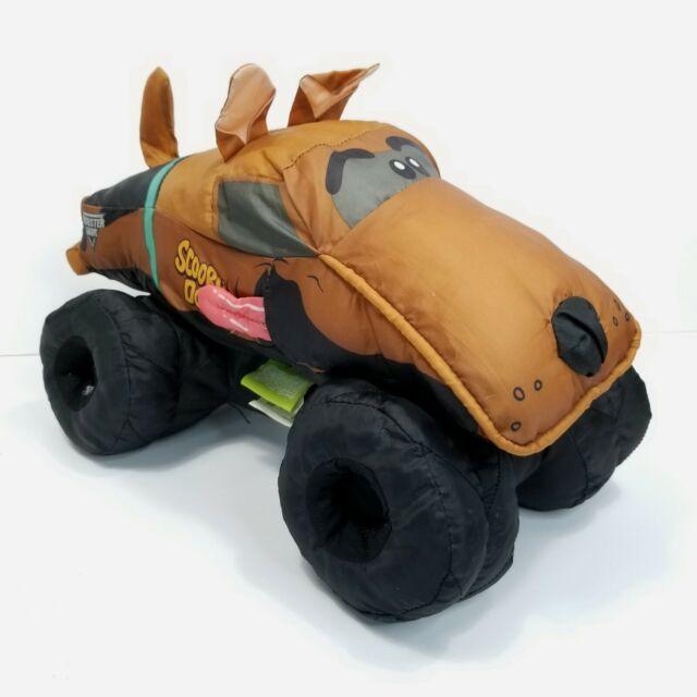 Scooby Doo Monster Jam Monster Truck Plush Nylon Stuffed ...