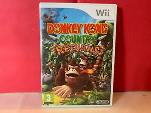 SUPERBE-JEU-NINTENDO-WII-DONKEY-KONG-COUNTRY-RETURNS-COMPLET