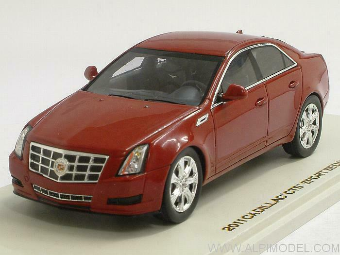 Illac CTS Sport Sedan 2011 Crystal rouge 1 43 LUXURY 100990