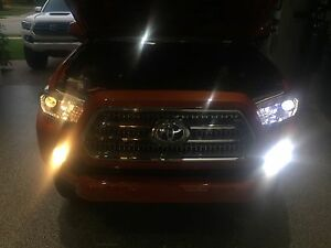 Image Is Loading Toyota Tacoma 2016 2017 2018 Led Headlight Amp
