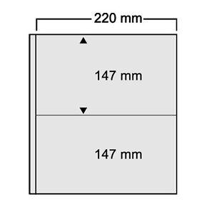 Einsteckblätter 10 Stück Art.-nr 451 Safe Compact A4