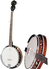 5 String Banjo Jameson Davison Closed Solid Back 24 Bracket Geared 5th Tuner