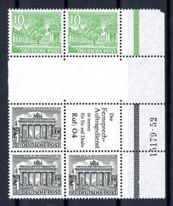 Berlin Zusammendruck MiNr. SZ 6 + HAN postfrisch MNH (XXX