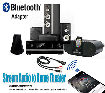 Bluetooth Audio Adapter for Home Theater Receiver Music System with RCA  Port BTR  eBay